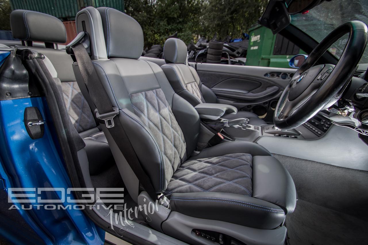 bmw e46 m3 full leather alcantara re trim. Black Bedroom Furniture Sets. Home Design Ideas