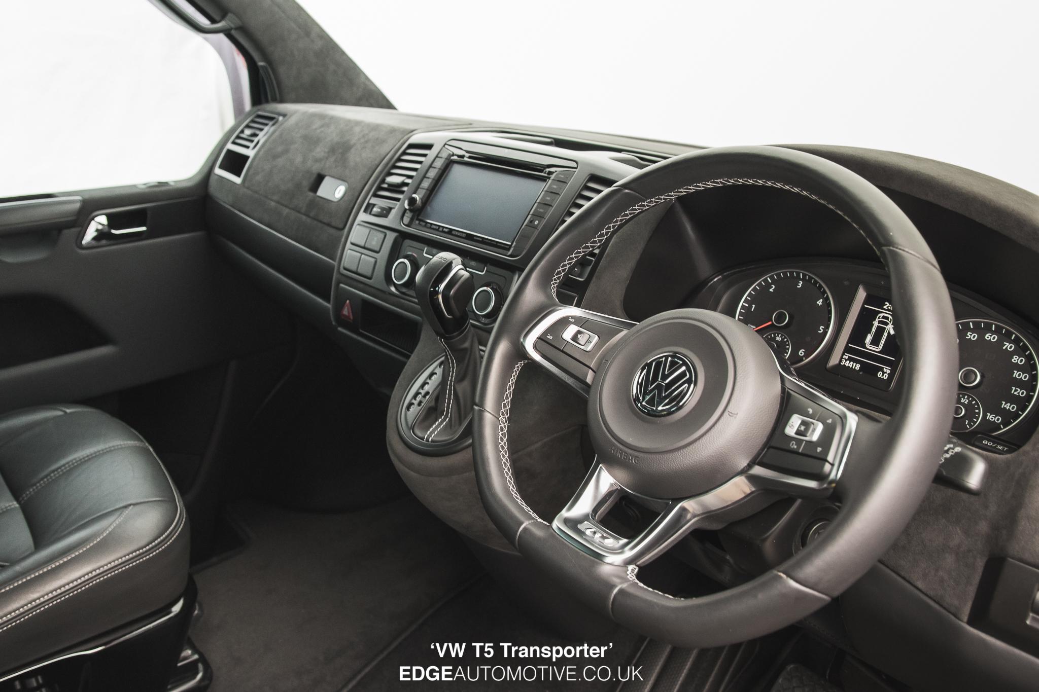 vw t5 transporter interior retrim edge automotive. Black Bedroom Furniture Sets. Home Design Ideas