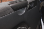 Leather and Alcantara retrim on a VW T5 Transporter interior