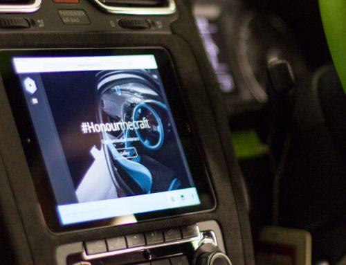 Apple iPad Mini car install in VW Scirroco