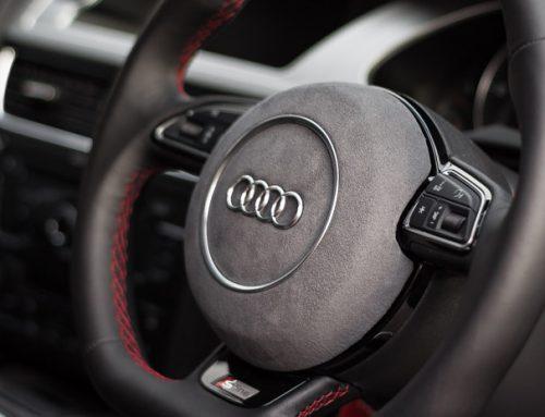 Steering Wheel Retrim – Leather/Alcantara