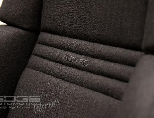 Tweed retrim – RECARO seats