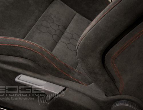 Laser etched Alcantara – MK5 GTi Wingbacks