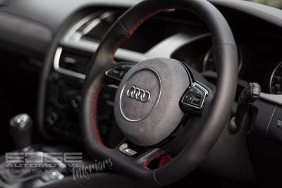 steering wheel retrim