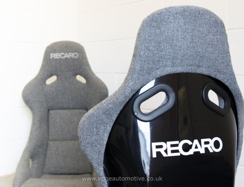Tweed upholstery – RECARO Pole Position